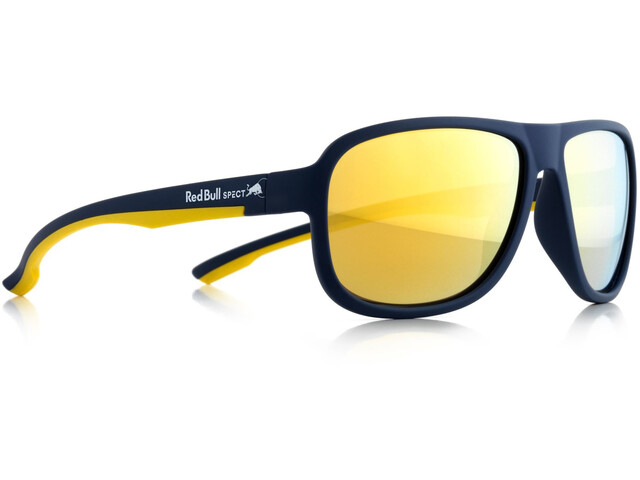 Red Bull SPECT Loop Lunettes de soleil, dark blue/brown-gold